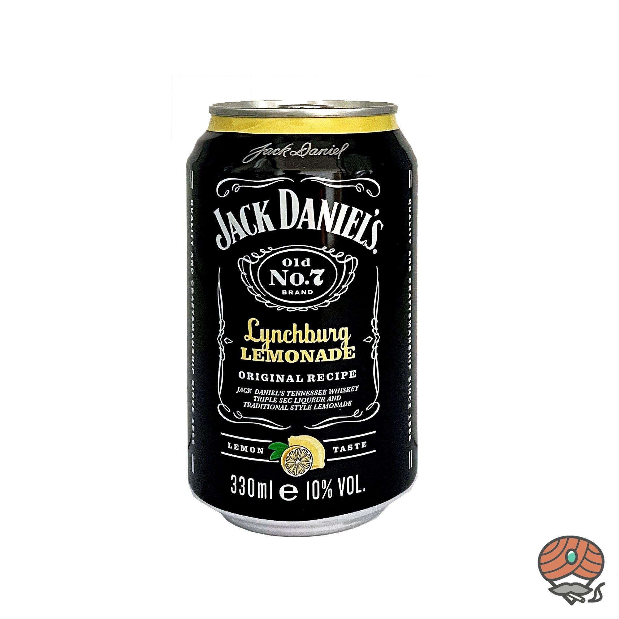 Jack Daniel´s + Lynchburg Lemonade 0,33 l inkl.0,25 Euro Pfand (alc. 10% Vol)