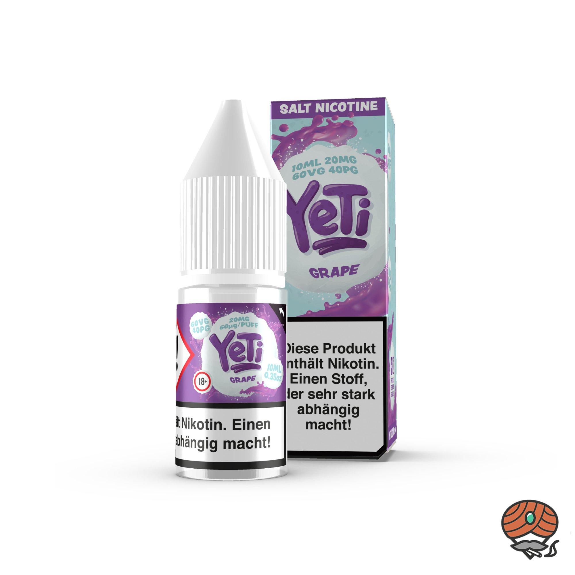 YeTi Nikotinsalz Liquid Grape 10 ml 20 mg/ml Nikotin