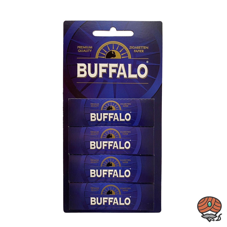 Buffalo Zigarettenpapier / Papers 4 x 50 Blättchen
