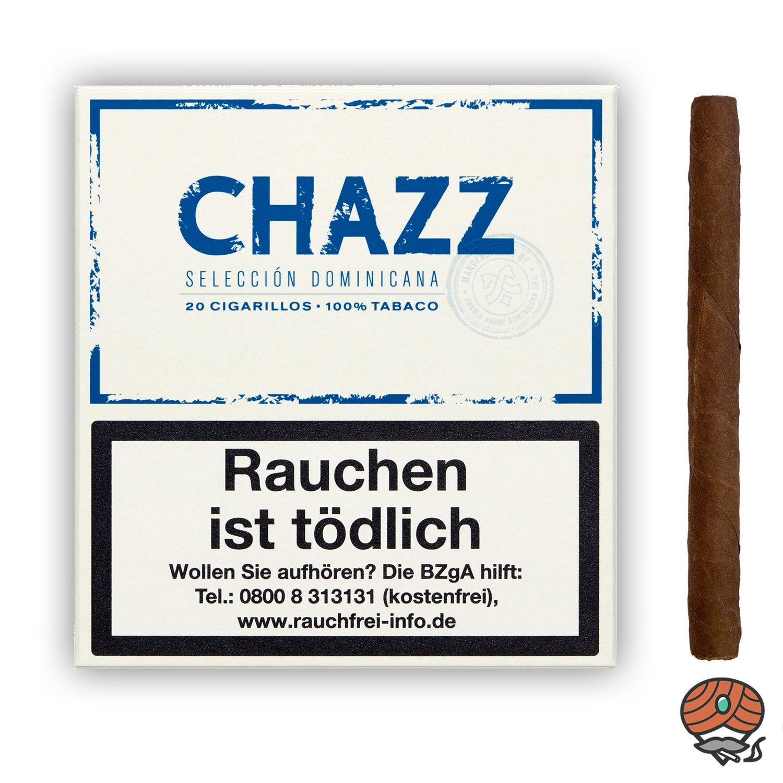 CHAZZ Cigarillos 100% Tabak Nr. 791 - 20 Stück
