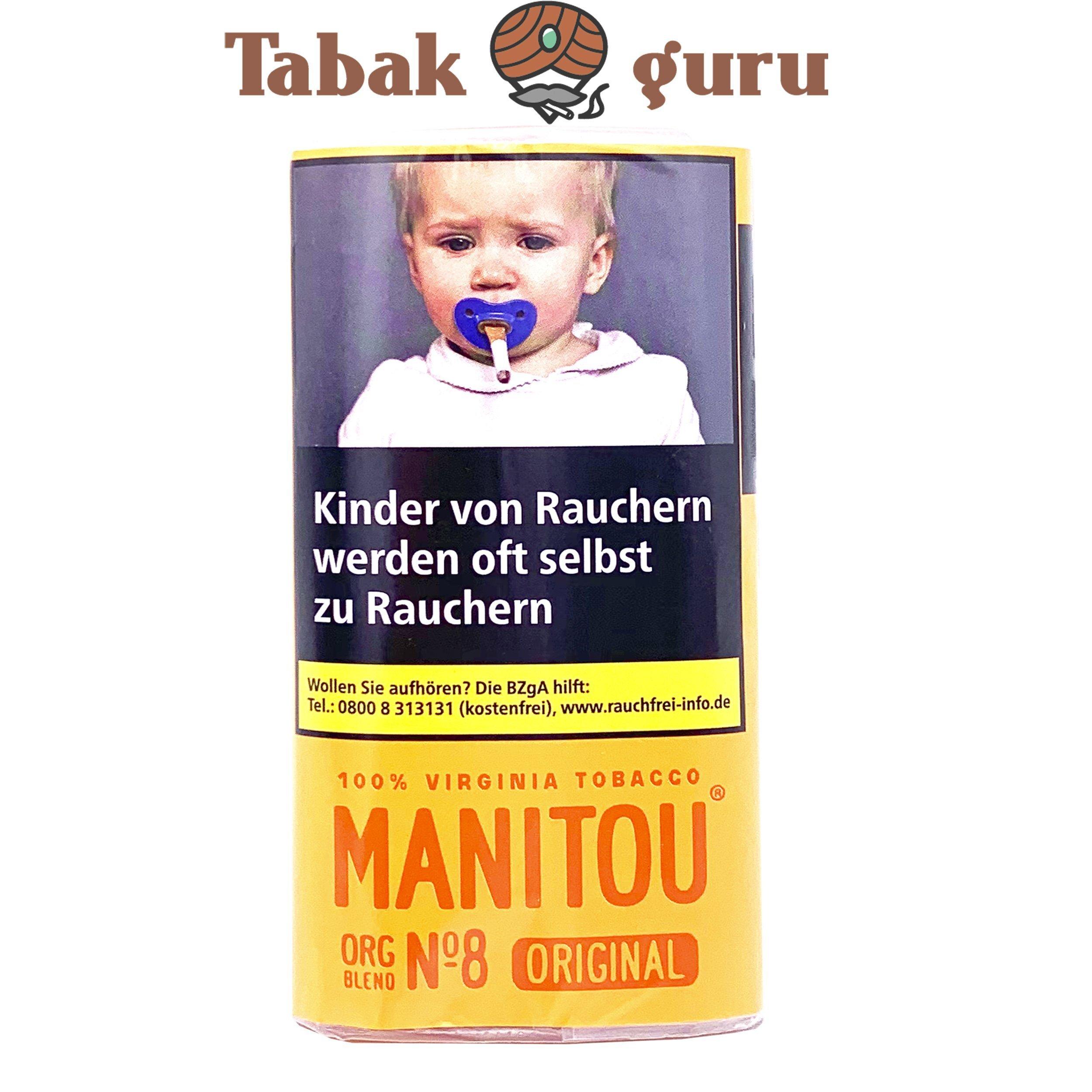 Manitou Organic Blend Original No.8 30g Drehtabak