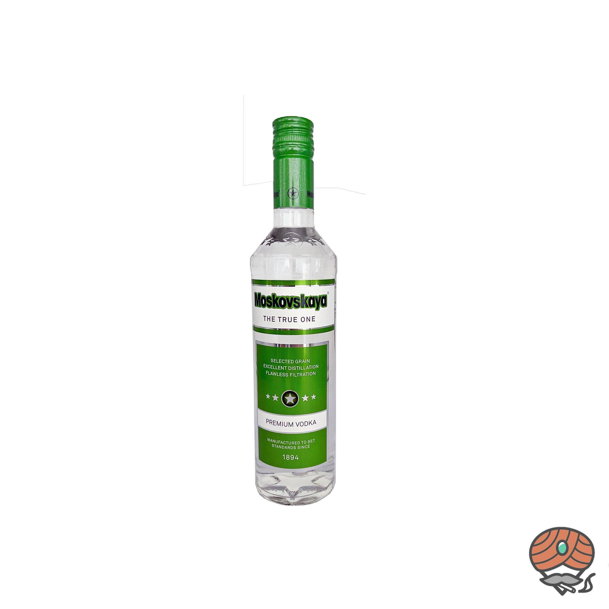 Moskovskaya Vodka - Wodka 0,5 l, alc. 38 Vol.-%