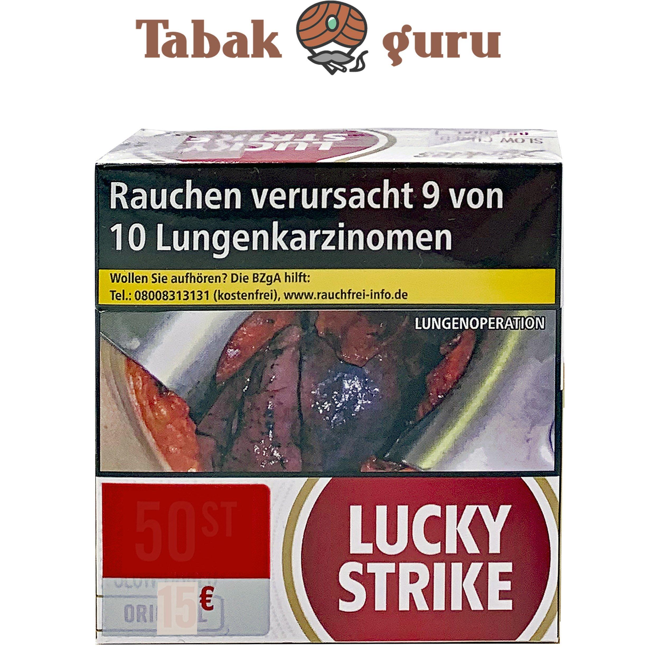 Lucky Strike Original Red Jumbo Box