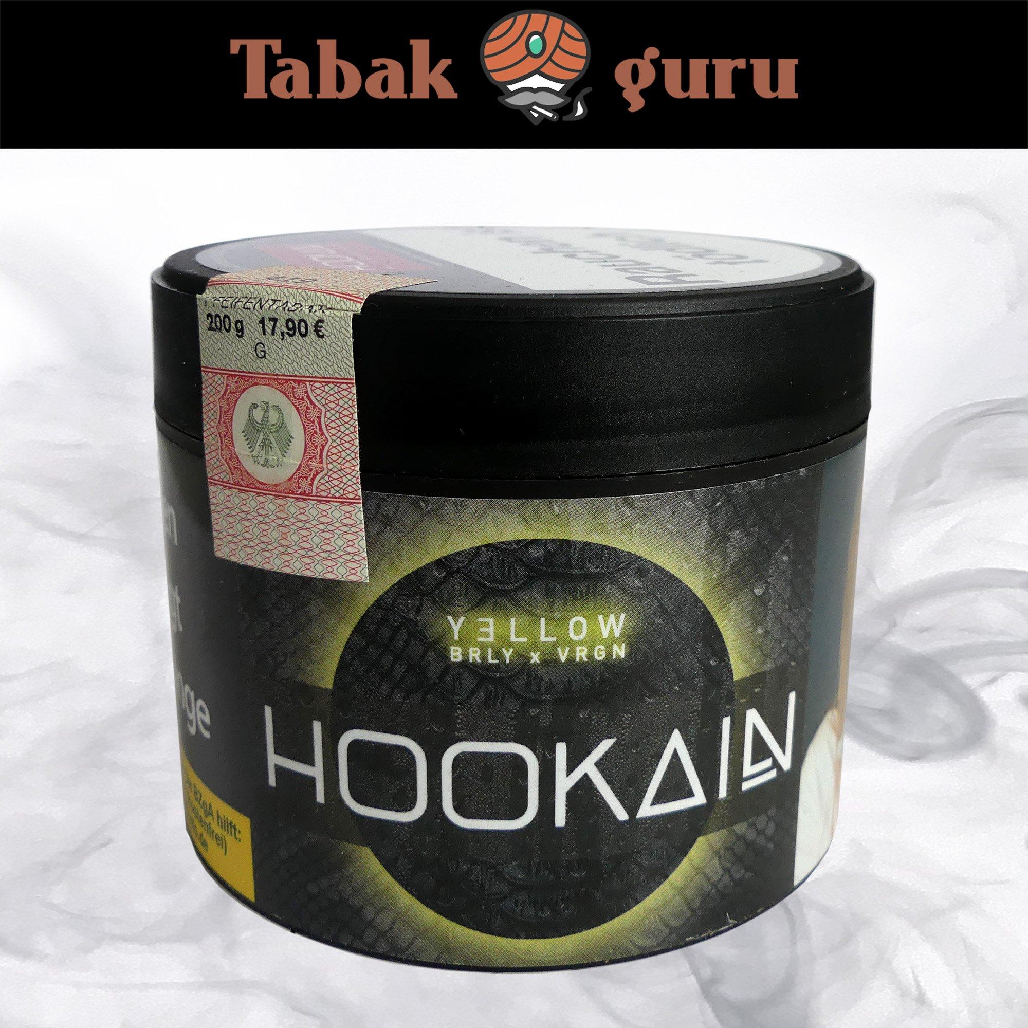 Hookain Yellow Brly x Vrgn 200g - Shisha Tabak