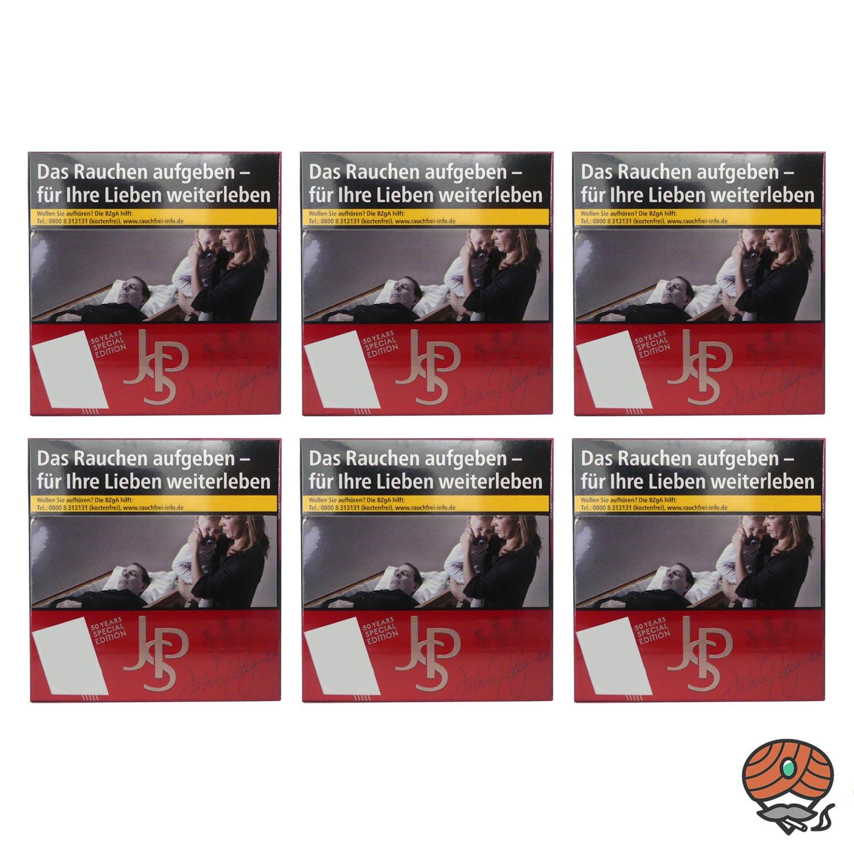 1 Stange JPS / John Player Special Red Zigaretten 6 x 49 Stück