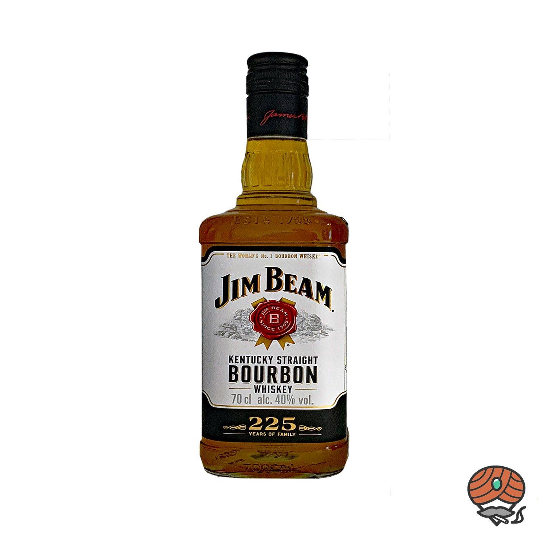 Jim Beam Kentucky Straight Bourbon Whiskey 0,7l, alc. 40 Vol.-%