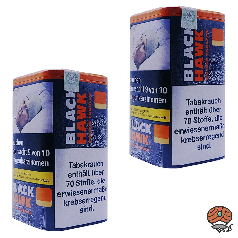 2x Black Hawk Volumentabak Dose à 90g