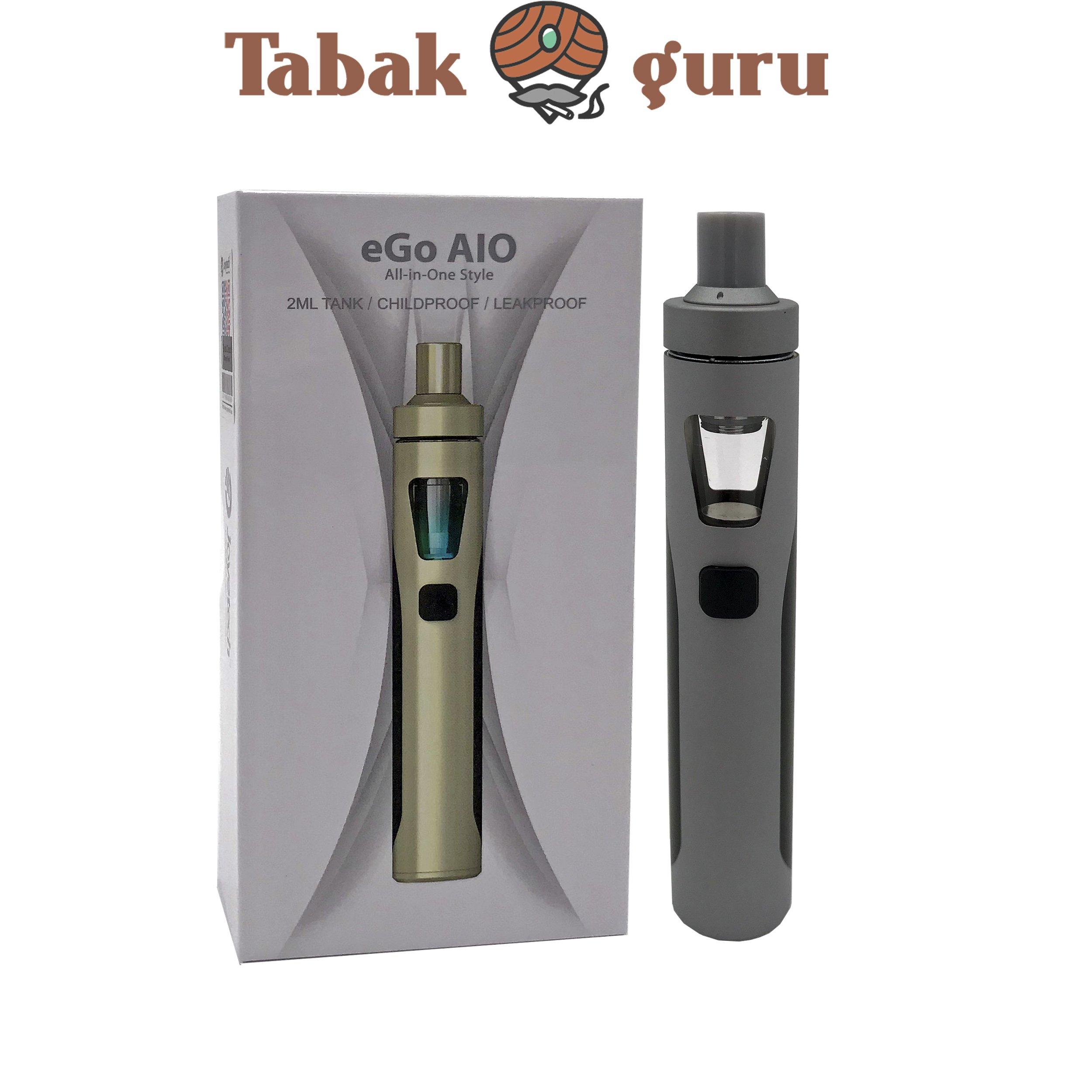 Joyetech eGo AlO All-in-One Style E-Zigarette Grau/Schwarz