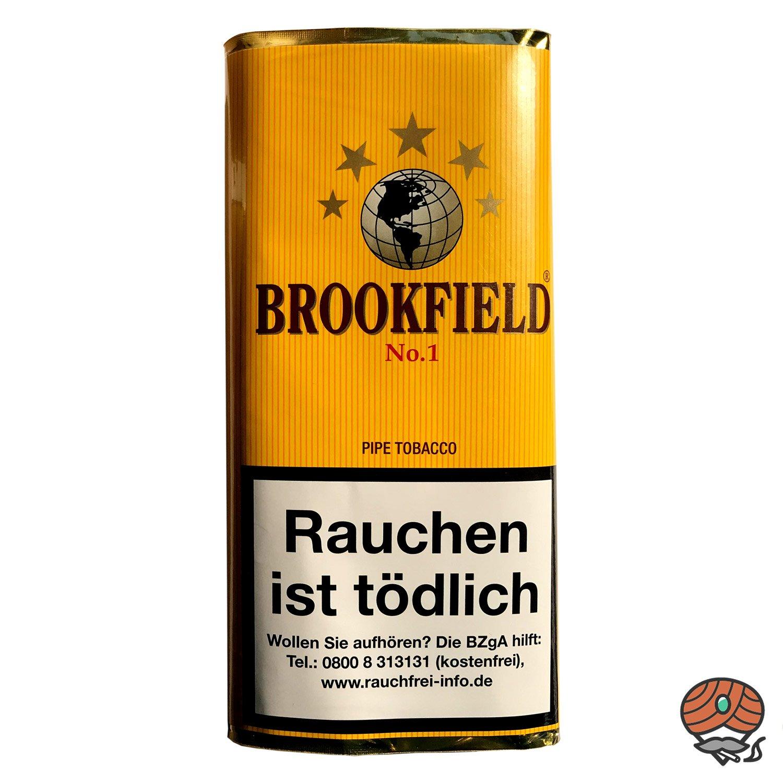 Brookfield No. 1 Aromatic Blend Pfeifentabak 50g Pouch