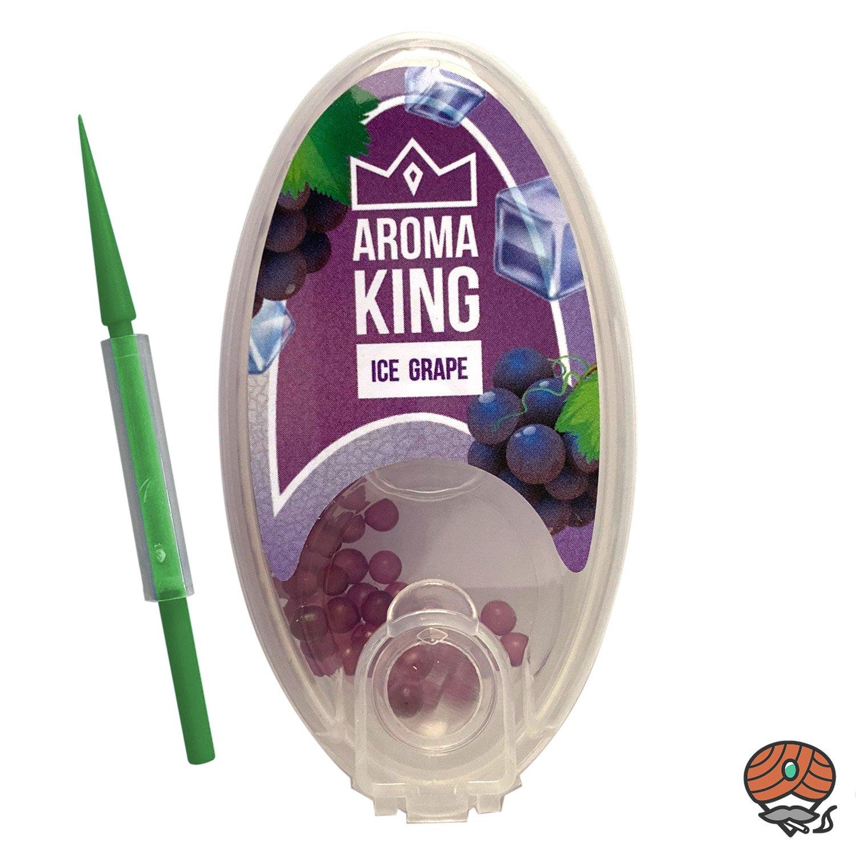 Aroma King Aromakapseln für Filterzigaretten - ICE GRAPE Dose à 100 Kapseln