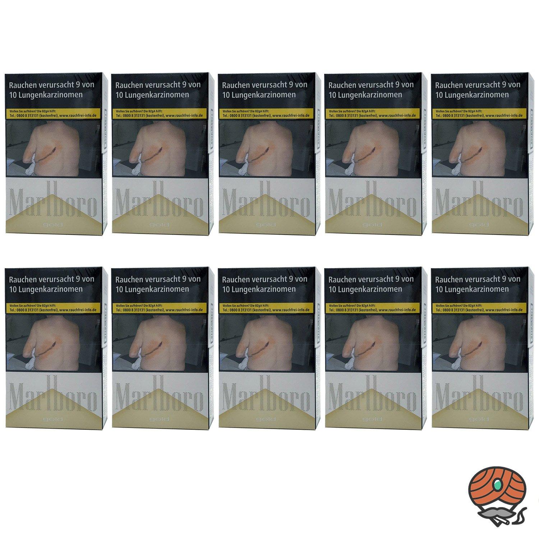 Stange Marlboro Gold Zigaretten OP Schachtel 10x20 Stück