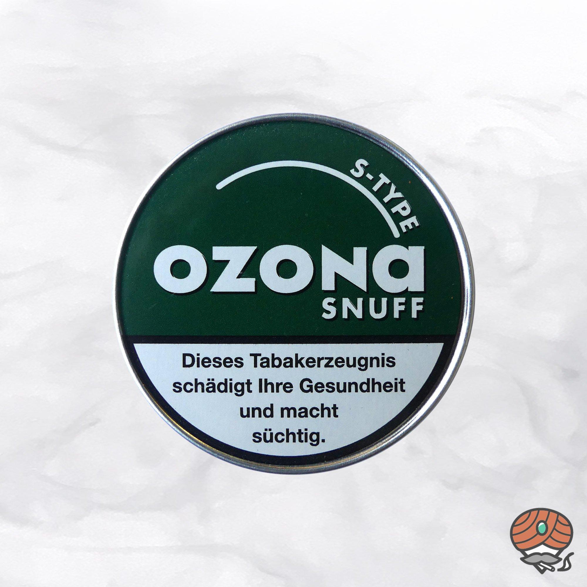 Ozona S-TYPE Snuff Schnupftabak 5g - Menthol