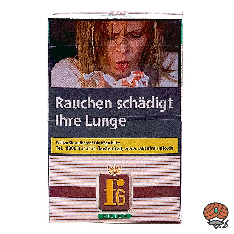 f6 Original Zigaretten L Schachtel 21 Stück