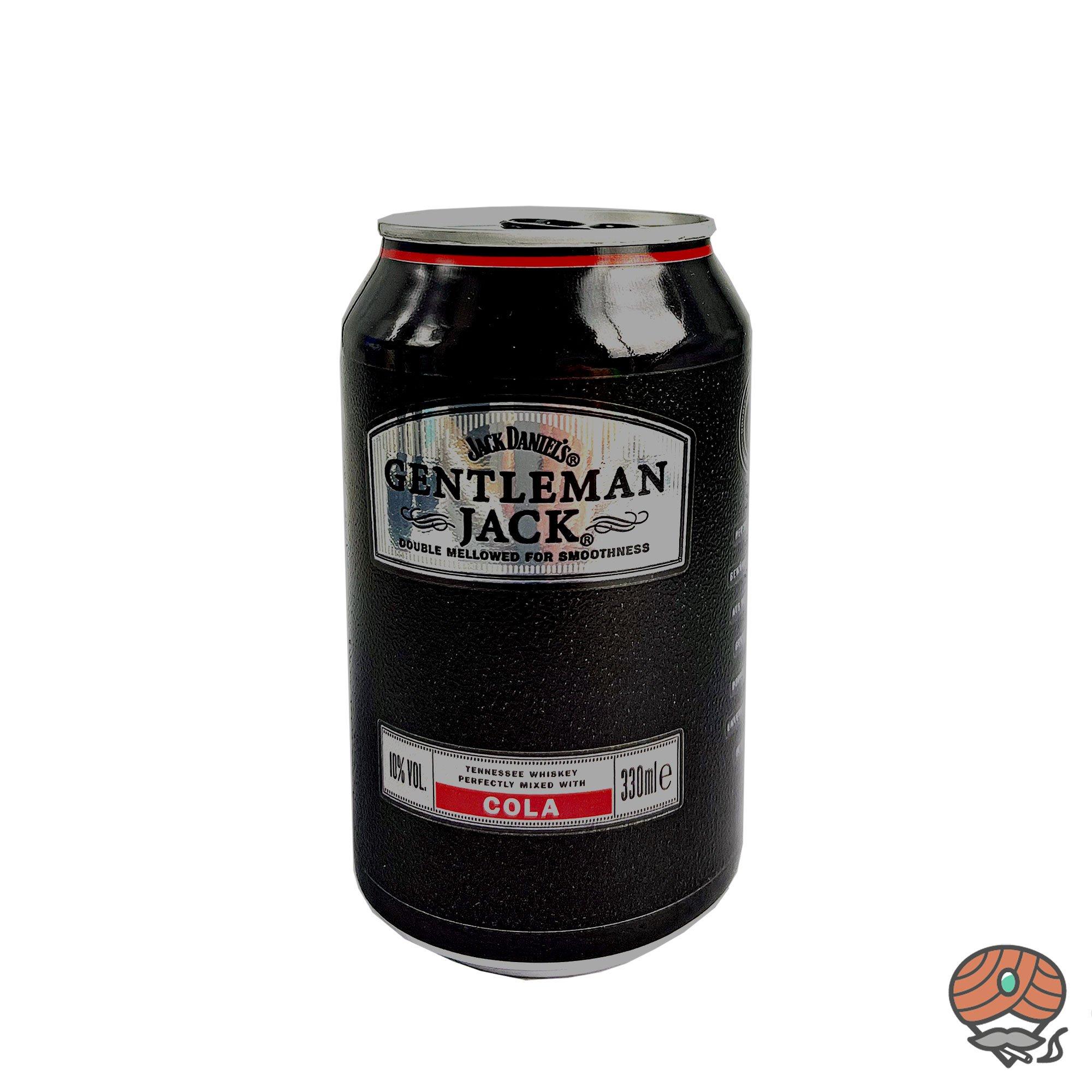 Jack Daniel´s Gentleman Jack Cola Mixgetränk 0,33 l inkl.0,25 Euro Pfand (alc. 10% Vol)