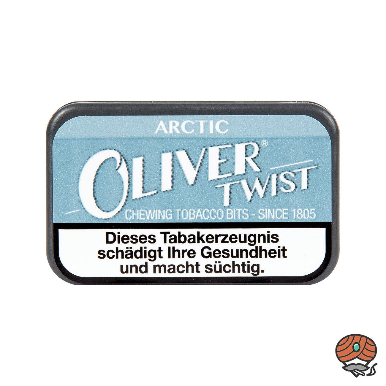 Oliver Twist ARCTIC Tabakpastillen, Kautabak, Chewing Bits