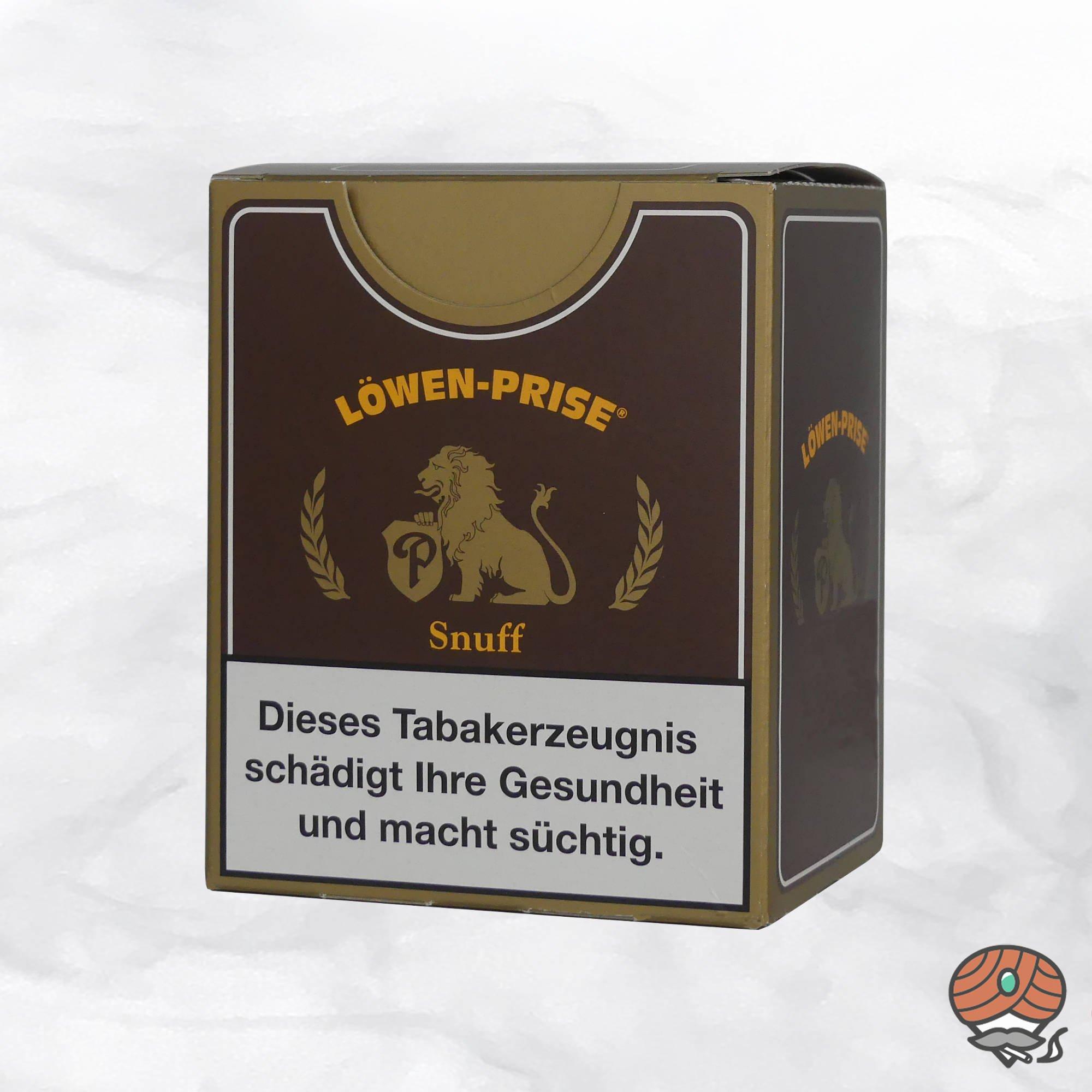 10x Löwen Prise Schnupftabak à 10g Beutel (=100g)