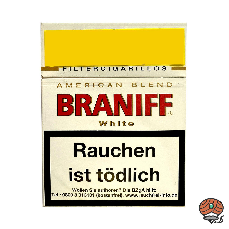 Braniff White Filterzigarillos Big Pack á 23 Stück