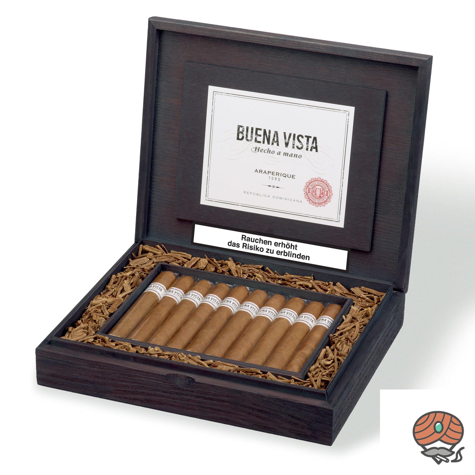 Buena Vista Araperique Toro Zigarre Dominikanische Republik 20er Kiste