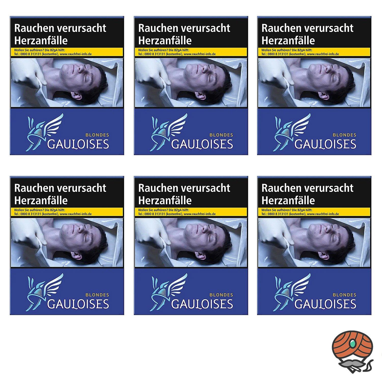 1 Stange Gauloises Blondes Blau Zigaretten XXXL Schachtel 6x31 Stück