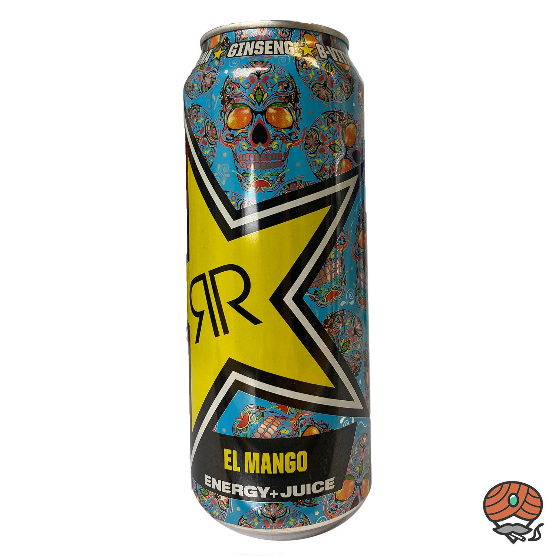 Rockstar, Baja Juiced, El Mango, Energy Drink, 500 ml Dose