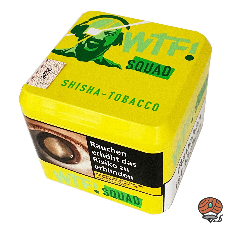 WTF! Shisha Tabak SQUAD (Zitrone) 200 g