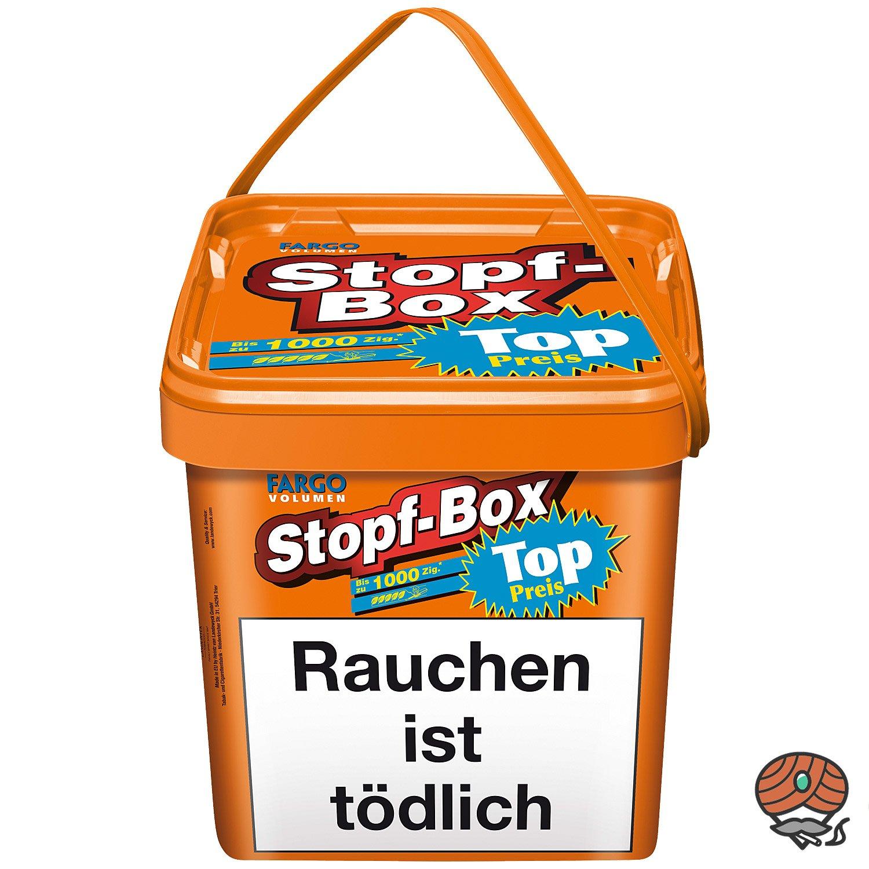 Fargo Stopf-Box Stopftabak / Volumentabak 480 g Eimer