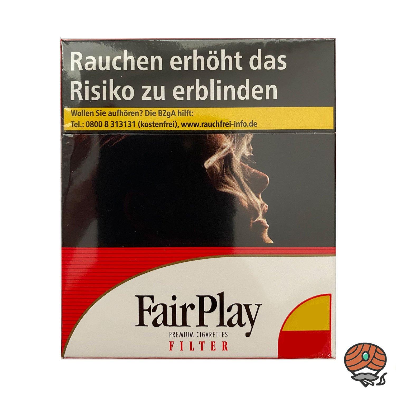 Fair Play Full Flavor Filter Zigaretten Giga Schachtel 35 Stück