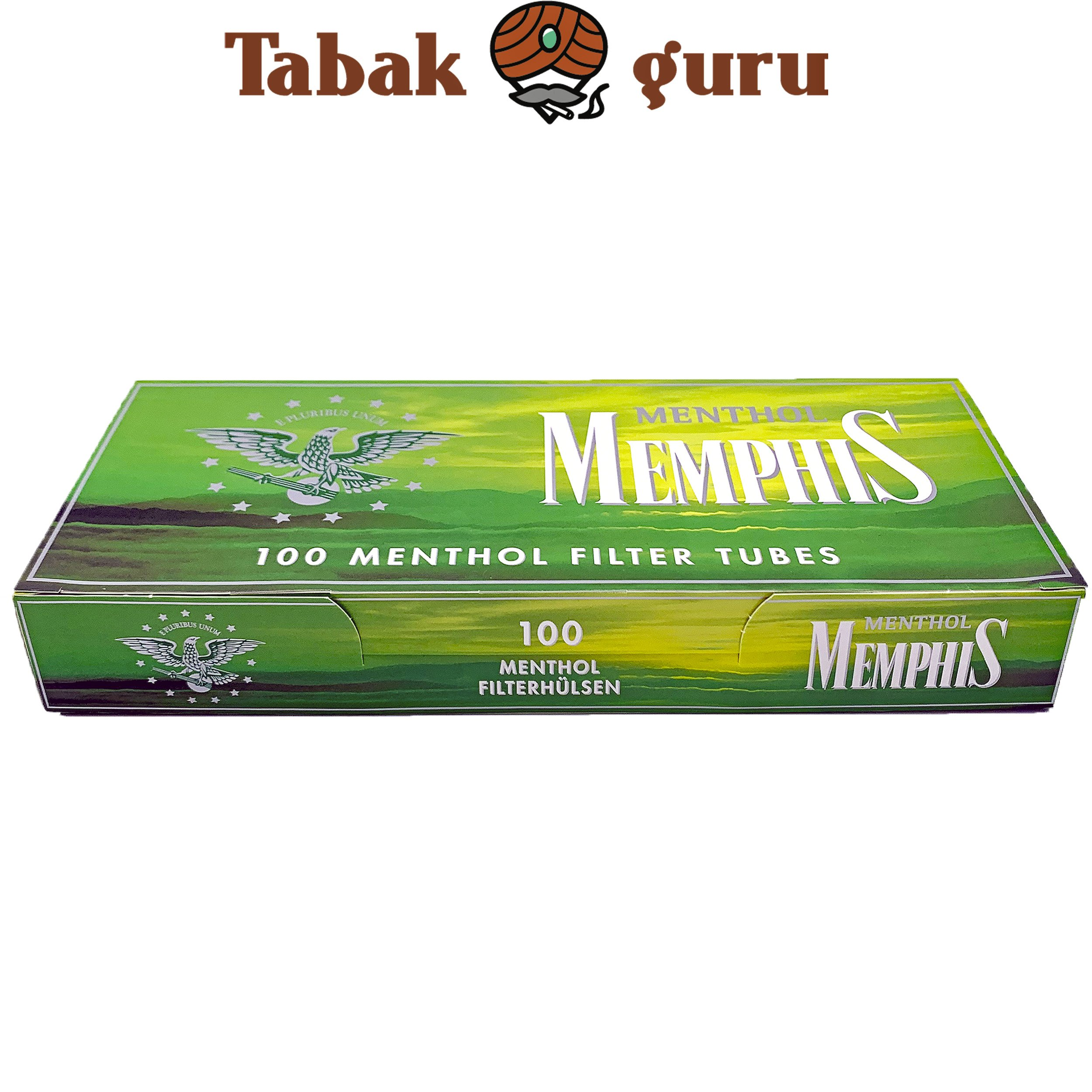 Memphis Menthol Filterhülsen