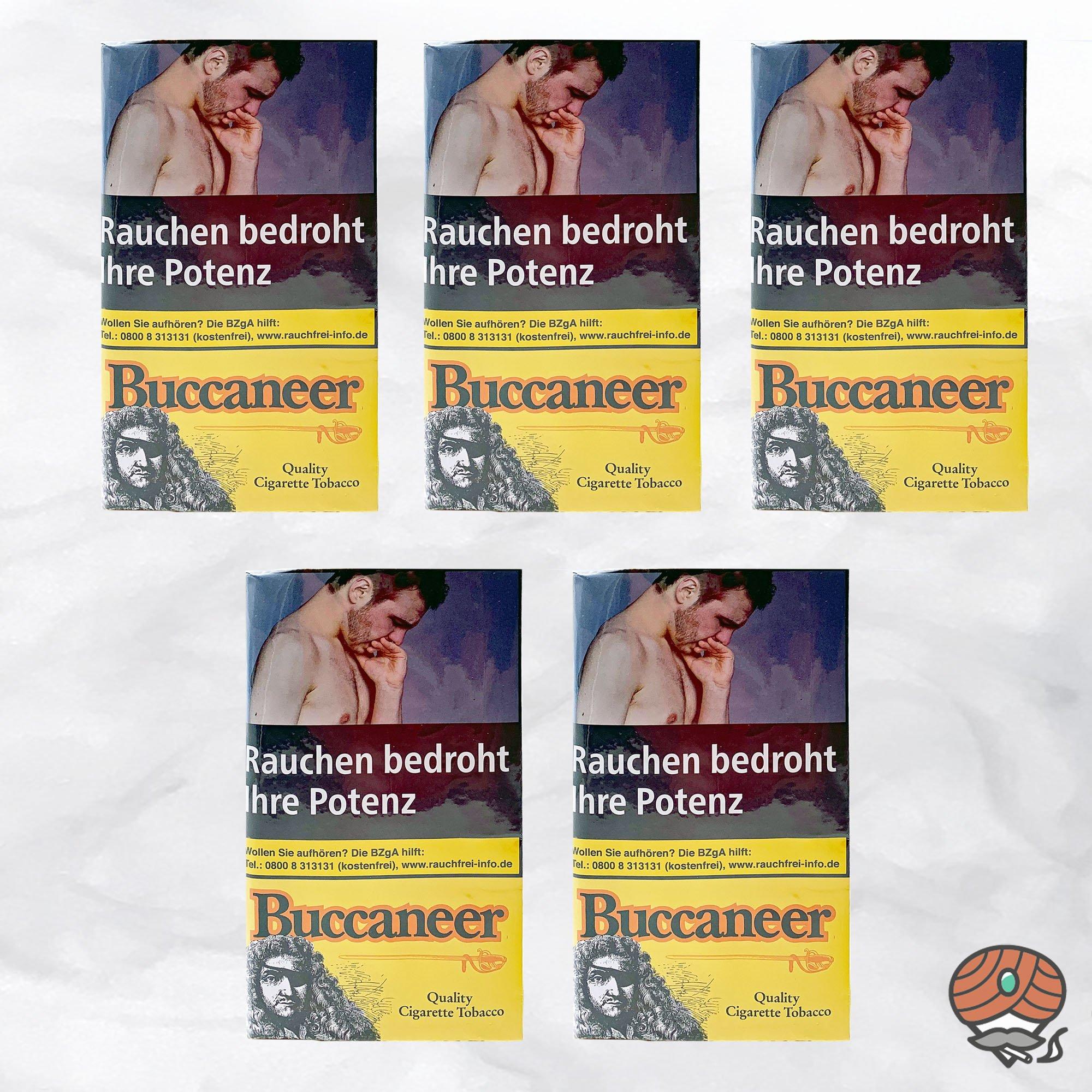5 x Buccaneer Zigarettentabak