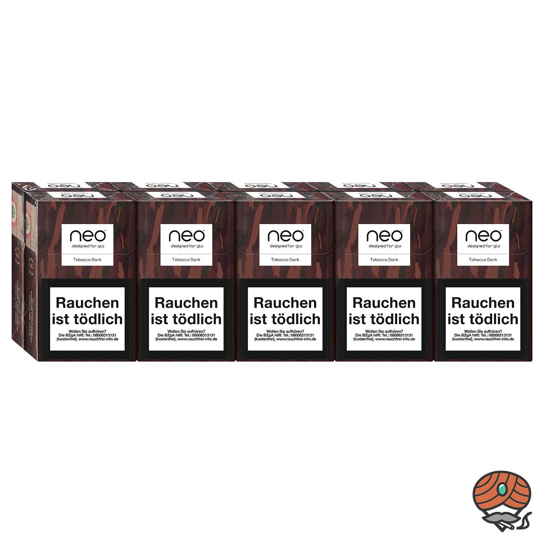 neo Tobacco Dark für GLO - 10 x Tabak Sticks à 20 Stück
