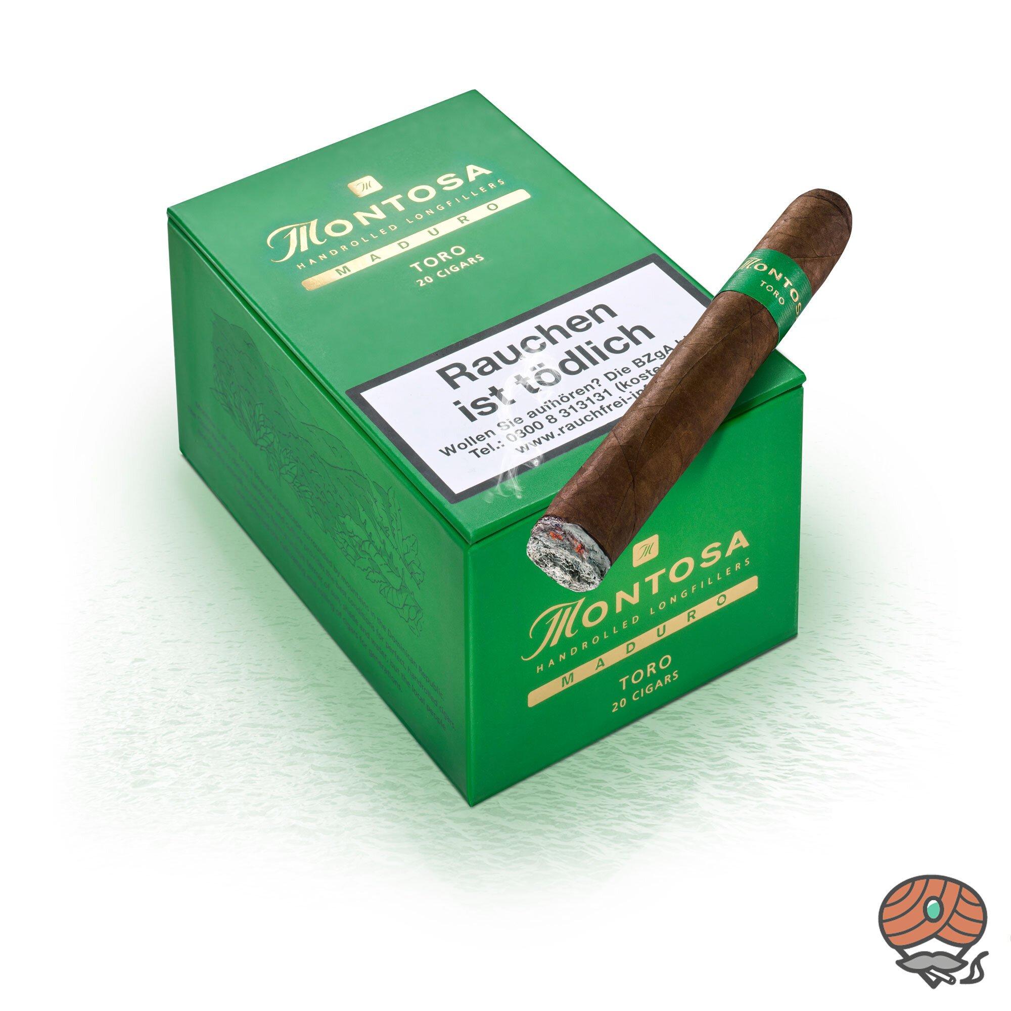 Montosa Maduro Toro Zigarren 20 Stück, Dominikanische Republik