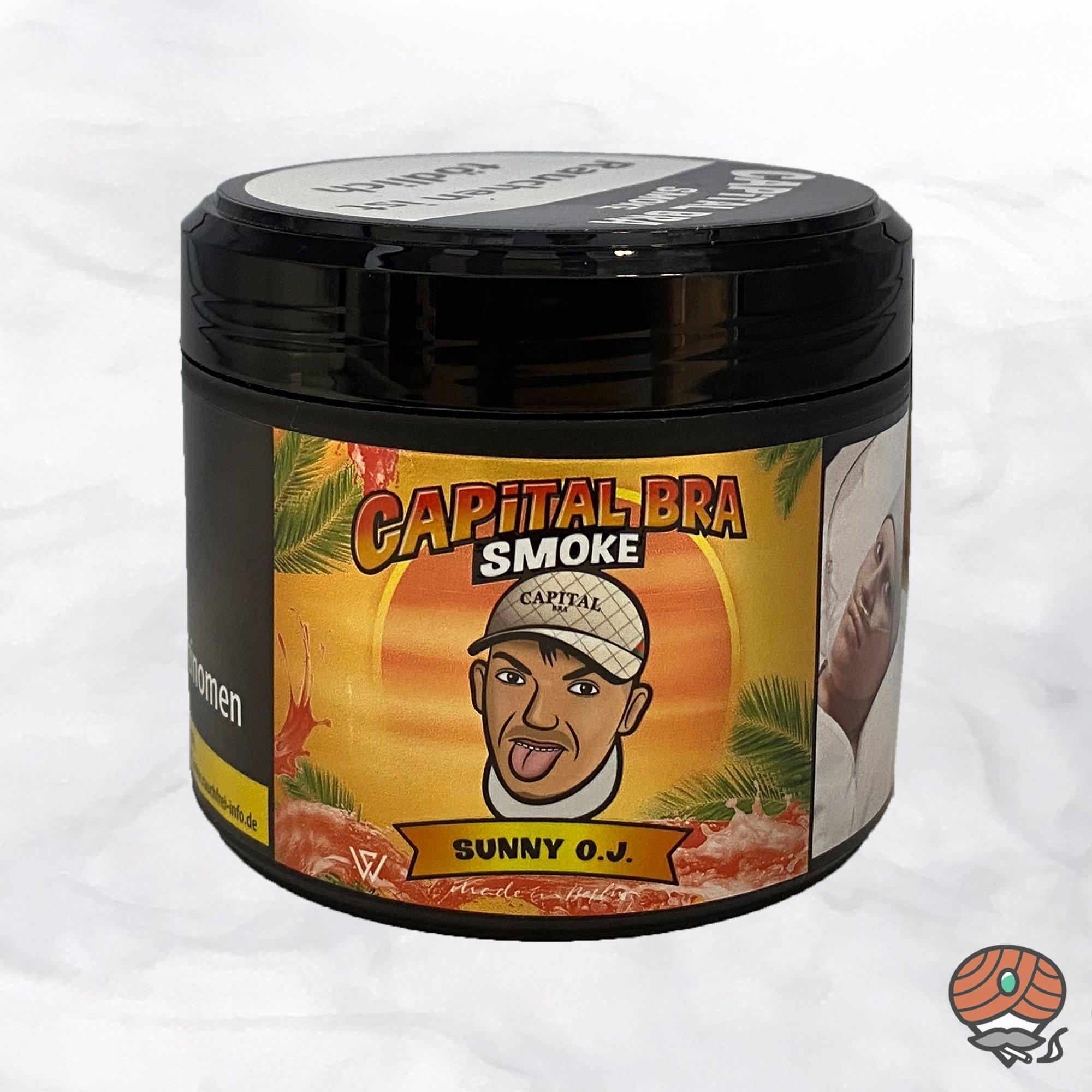 Capital Bra Smoke Shisha Tabak - Sunny O.J. 200g