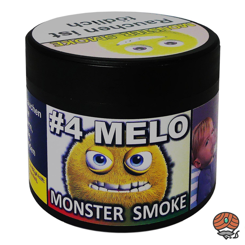 Monster Smoke #4 MELO 200 g - Shisha Tabak