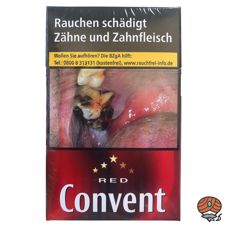 Convent RED Classic Blend Zigaretten Inhalt 20 Stück