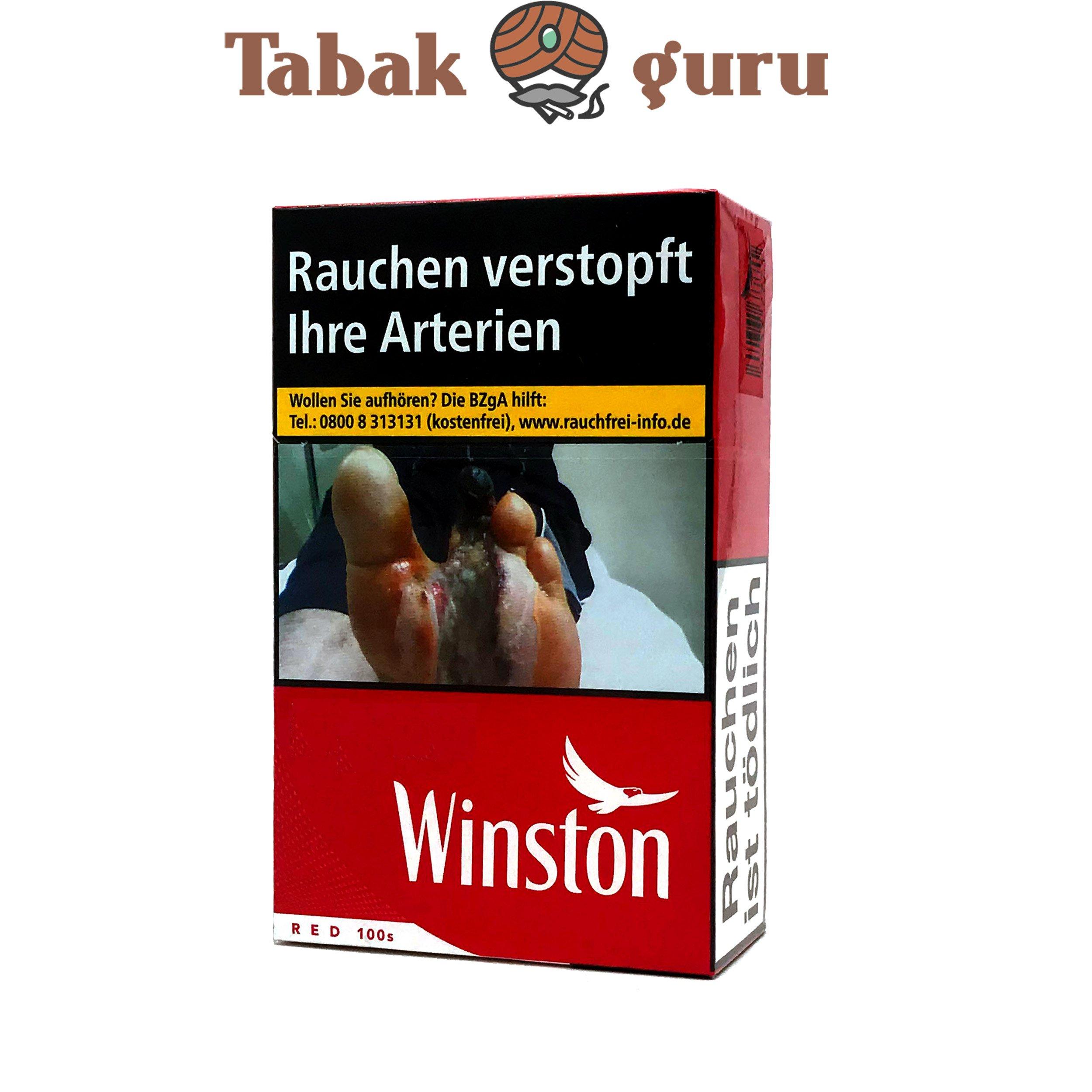 Winston Red 100 BP XXL Zigaretten (29 Stück)