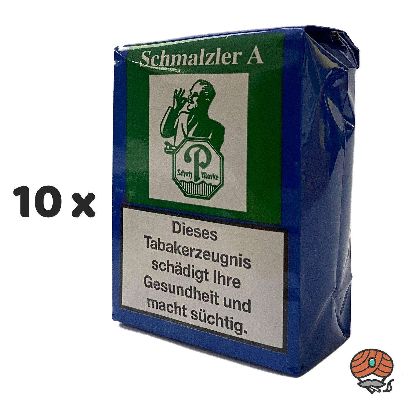 10 x Schmalzler A Schnupftabak 100g von Pöschl