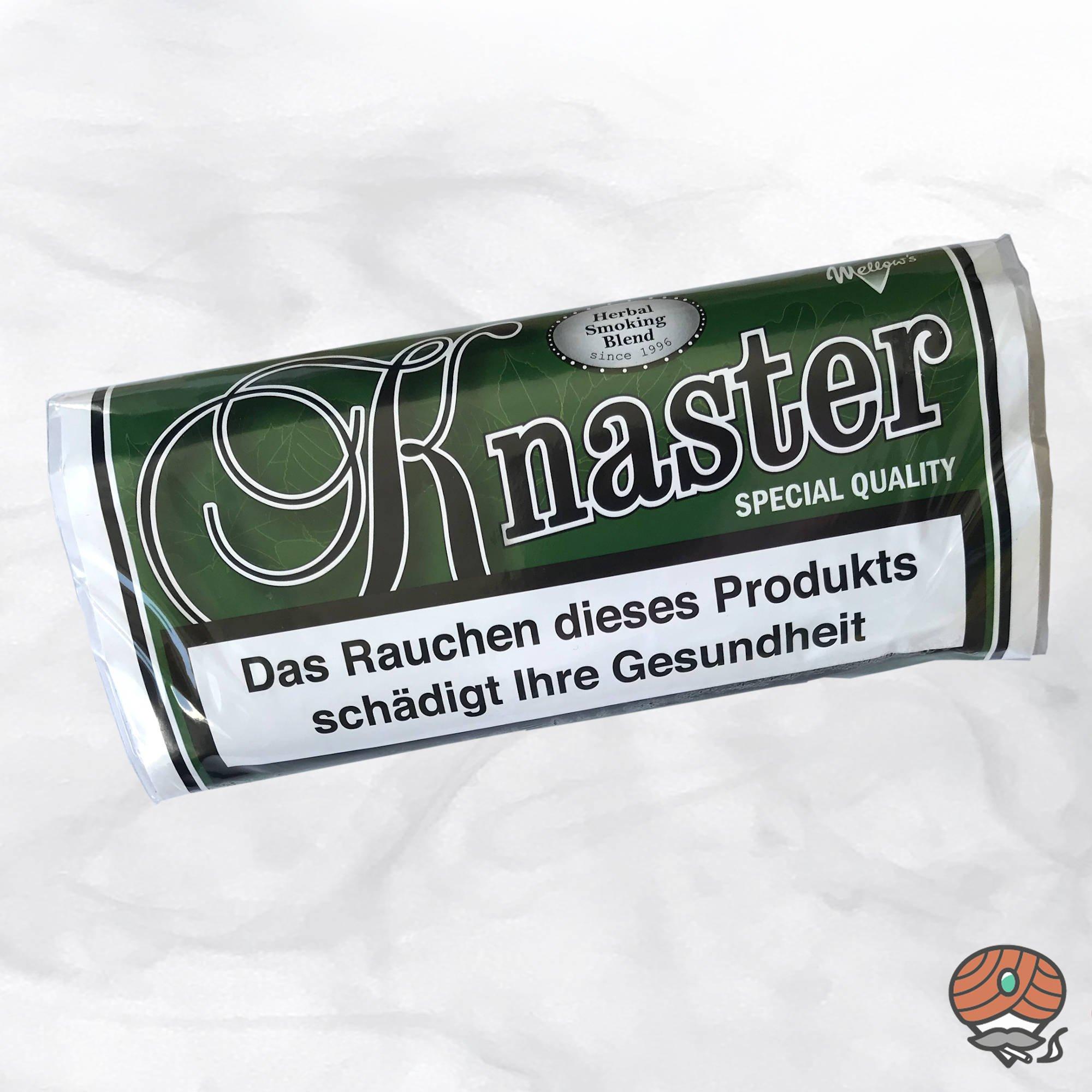 Knaster Special Quality, Tabakersatz, nikotinfrei, Kräutermischung 35g