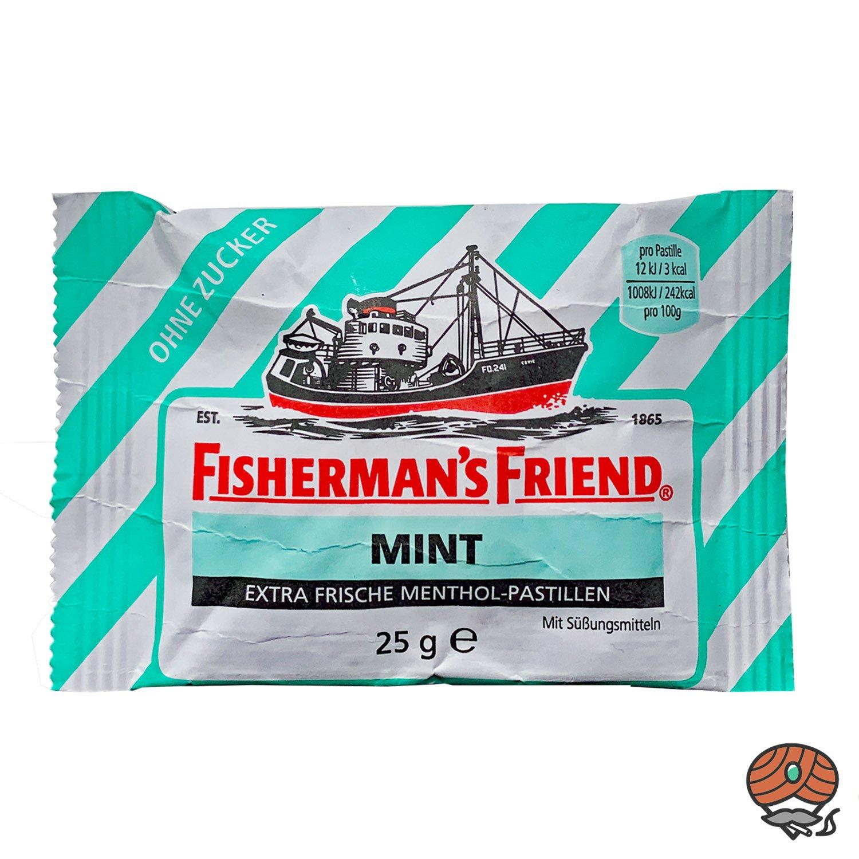 Fisherman`s Friend Menthol-Pastillen Mint ohne Zucker