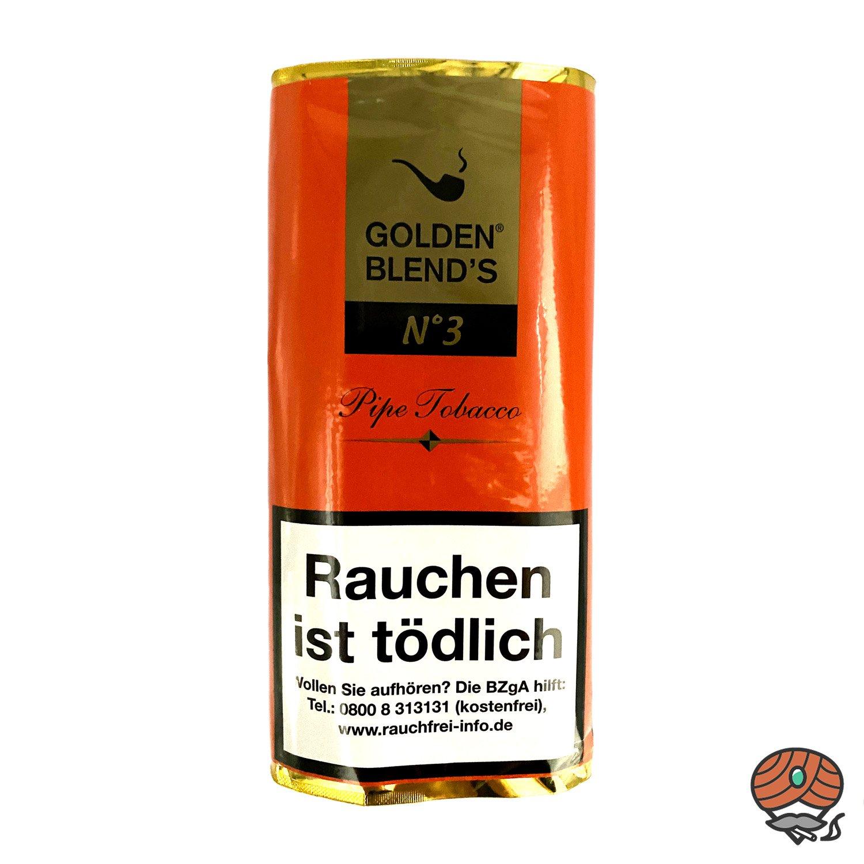 Golden Blend´s No. 3 Pfeifentabak 50g Pouch (ehem. Amaretto)