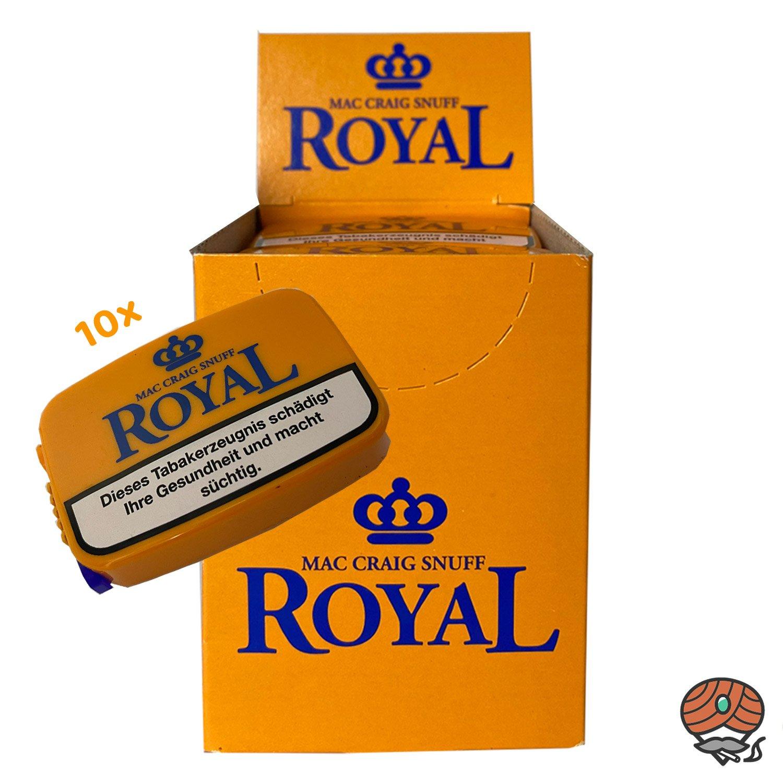 10x Mac Craig Snuff Royal 7g Dose