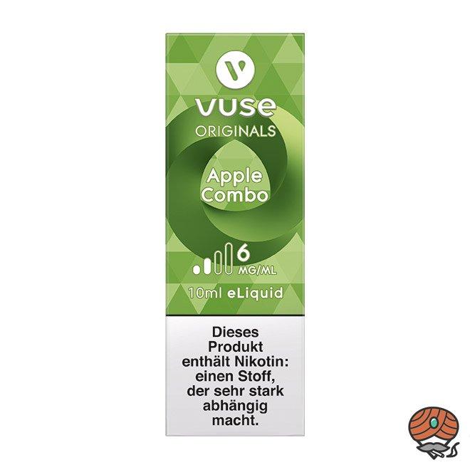 Vuse eLiquid Bottle Apple Combo 6 mg/ml (ehem. Vype Apple Custard)