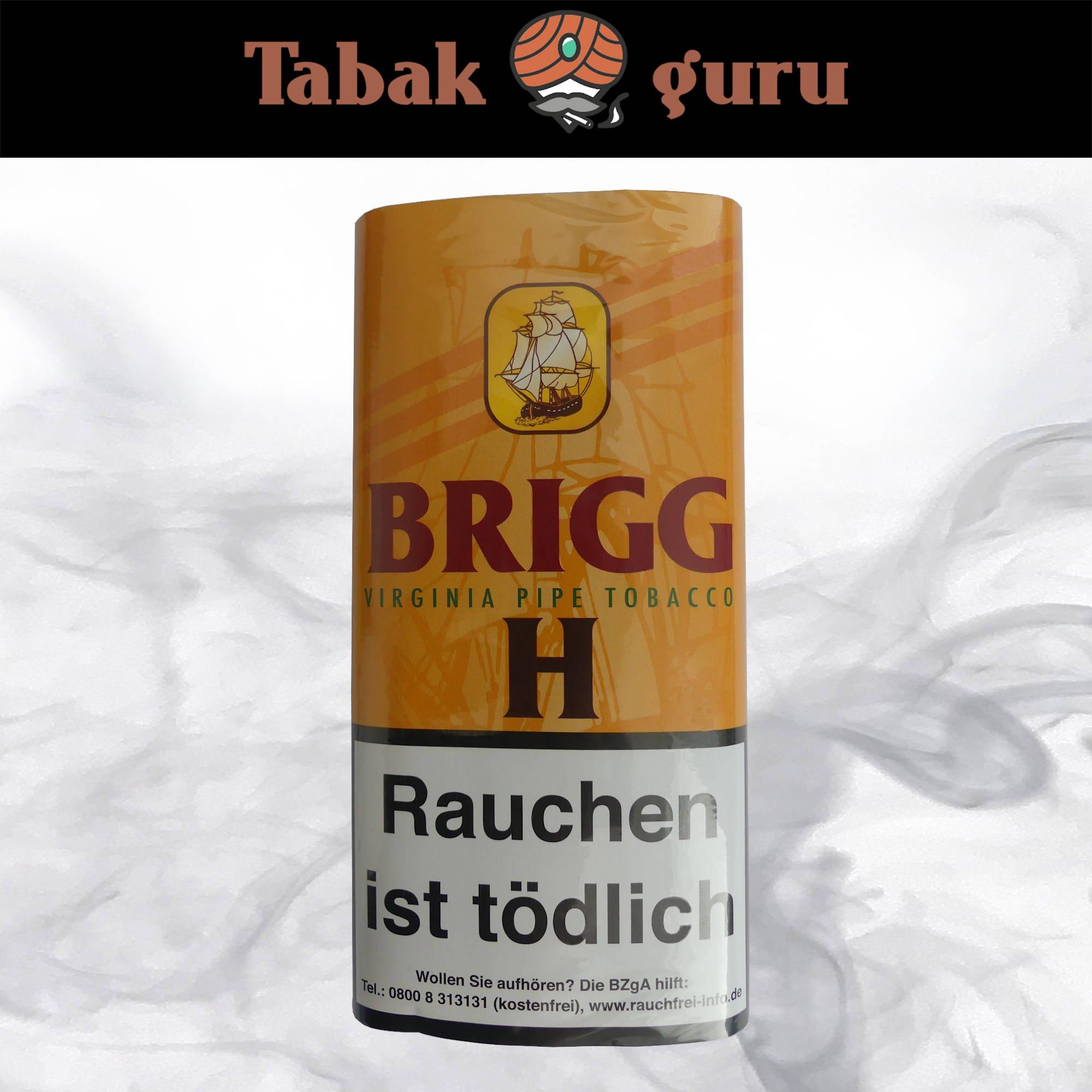 Brigg H Pouch Pfeifentabak 40 g mit Honigmelone Aroma