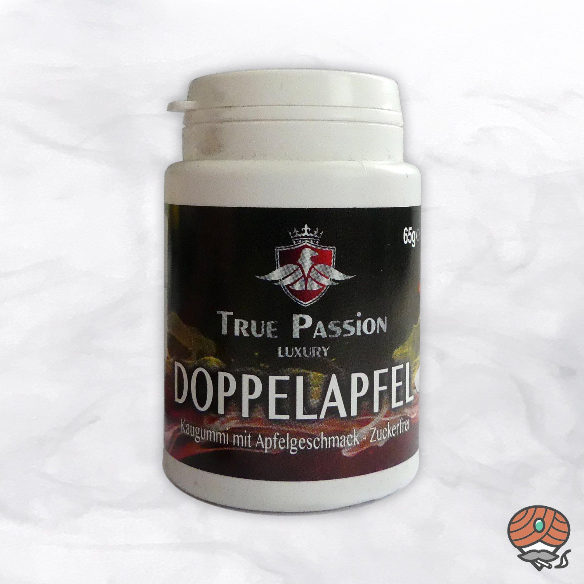 True Passion DOPPELAPFEL Kaugummi, zuckerfrei, 65 g