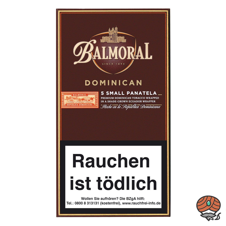 Balmoral Dominican Selection Small Panatela Zigarren, 5 Stück