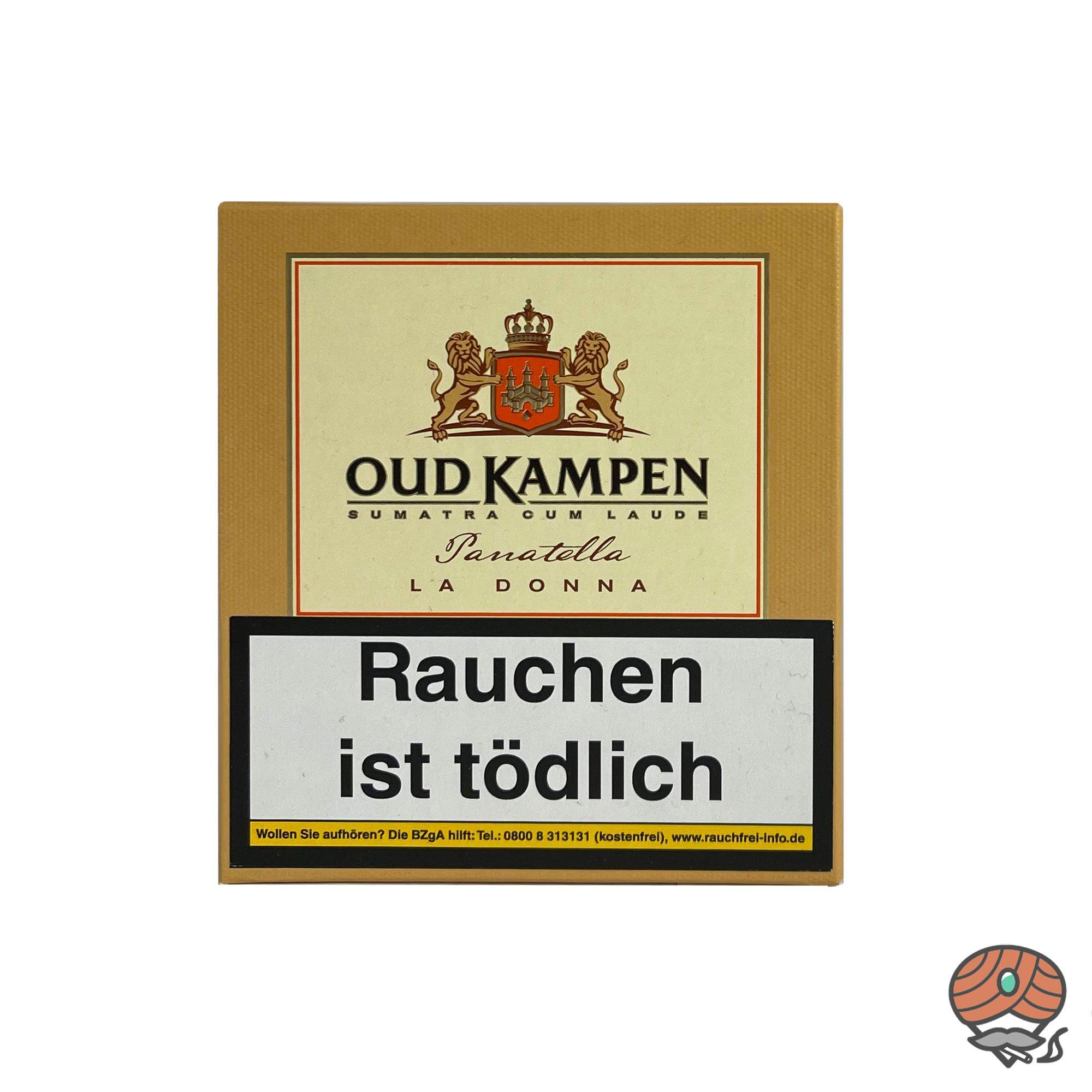 Oud Kampen Panatella La Donna Zigarillos 100% Tabak