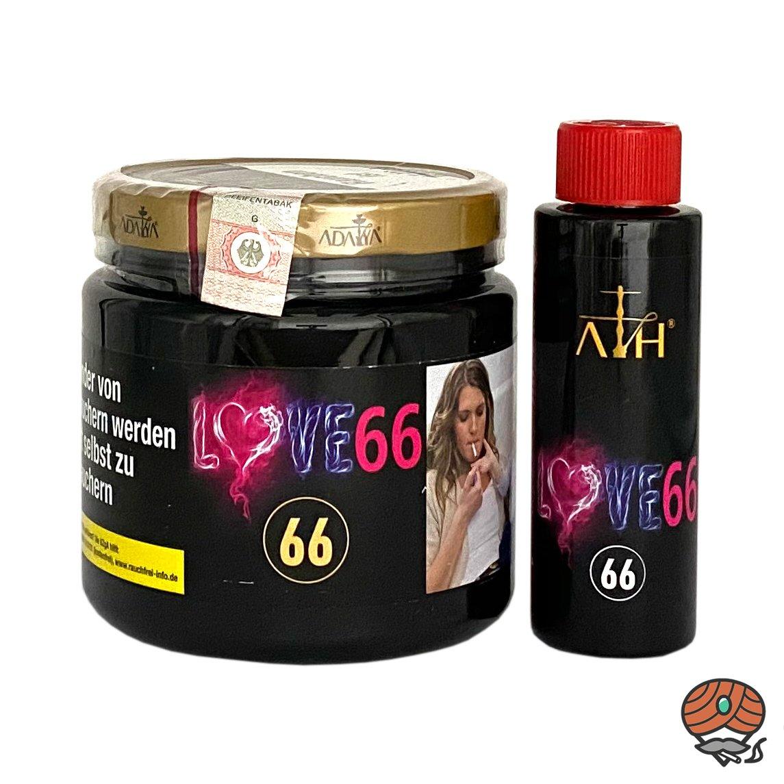 ADALYA LOVE 66 #66 - 1000g Shisha Tabak + ATH Love 66