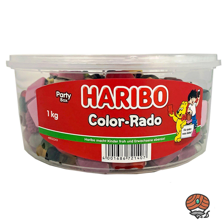 Haribo Color-Rado in der 1kg Party-Box