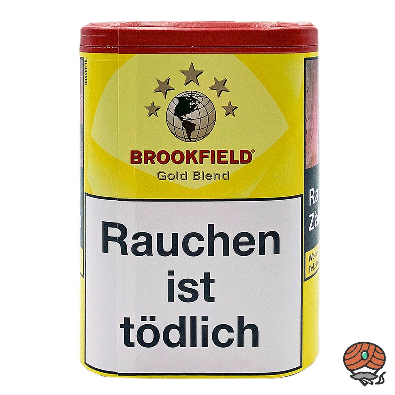 Brookfield Gold Blend Zigarettentabak, Feinschnitt-Tabak 120g Dose