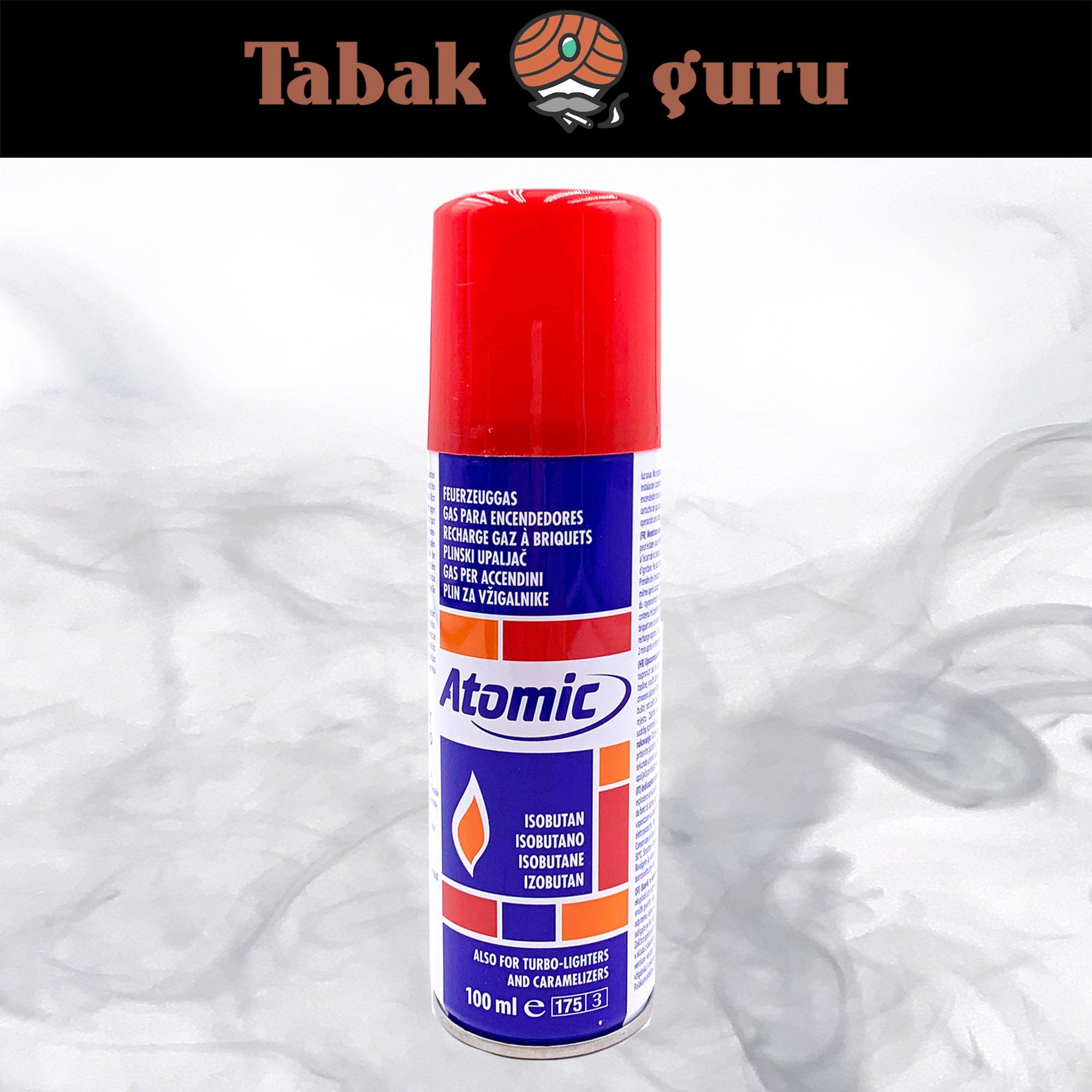 Atomic Feuerzeuggas  Inhalt 100 ml