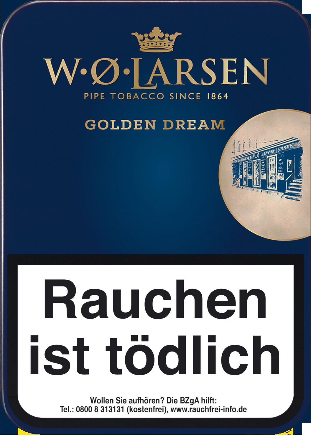 W.Ø. LARSEN Golden Dream Pfeifentabak 100g Dose